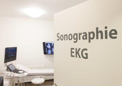 Hausarztpraxis Handewitt Sonographie EKG